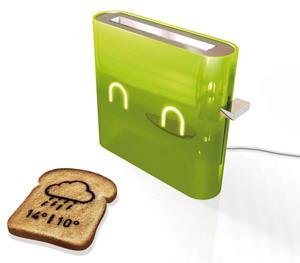 Wetterbericht Jamy Smart Toaster